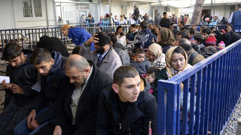 Migrations: la Suisse veut davantage aider la Grèce face à l'afflux de réfugiés