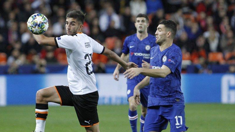 Football – Ligue des champions: Valence et Chelsea se quittent sur un nul