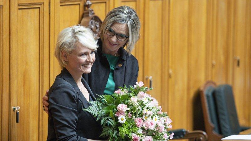 Conseil national: Isabelle Moret accède à la présidence avec le meilleur résultat de tous les temps