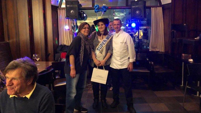 Une Miégeoise remporte le concours des Catherinettes chez Didier de Courten