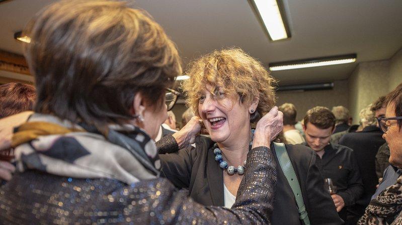 Fédérales 2019: de Sion à Troistorrents, la folle journée de Marianne Maret