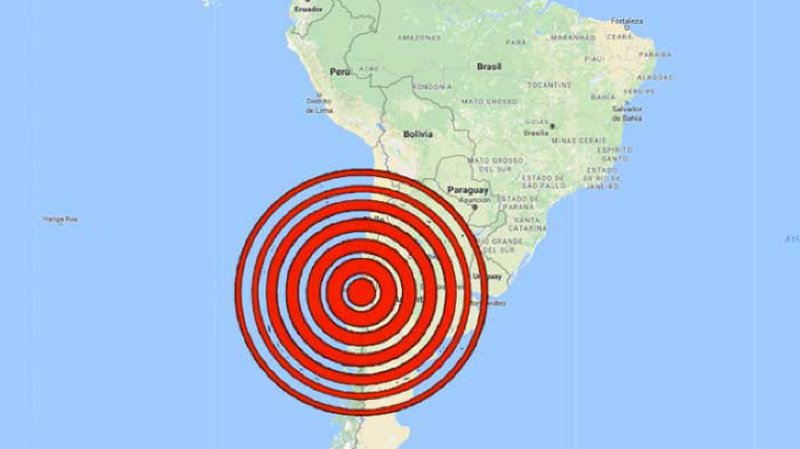 Chili: un séisme de magnitude 6 a secoué les manifestants à Santiago