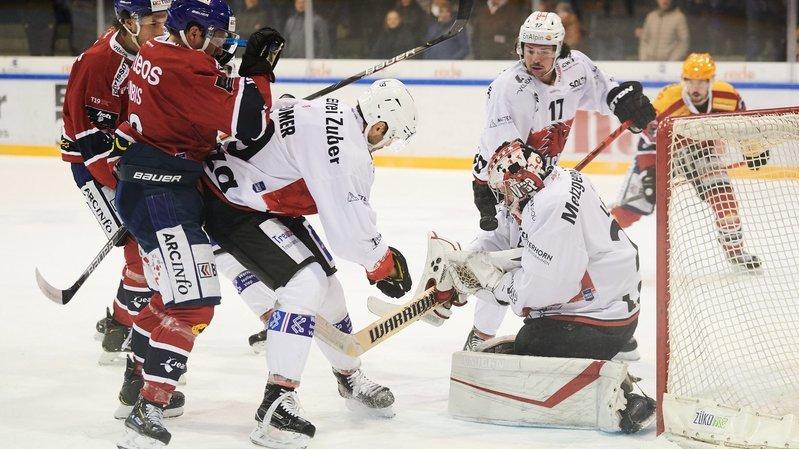 Hockey: Viège fait tourner le match en six minutes