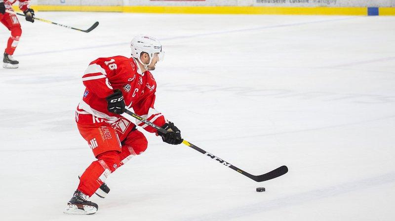 Jérémy Gailland et le HCV Martigny n'entendent pas abandonner la première place à Dübendorf.