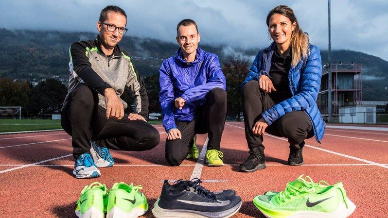 Course à pied: ils ont testé la fameuse basket magique des marathoniens, propice aux records