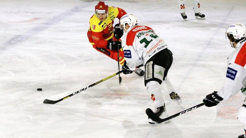Hockey: à Olten, Sierre a très mal géré les situations spéciales