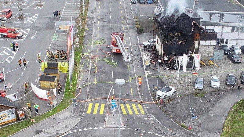 Schwytz: le chauffard mort à Galgenen roulait dans une voiture volée