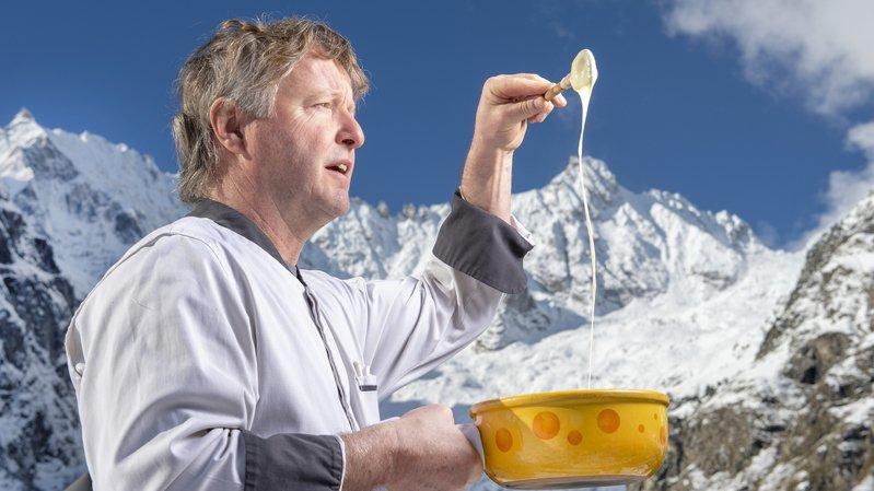 Le cuisinier de La Fouly qui veut décrocher l'or au Mondial de la fondue