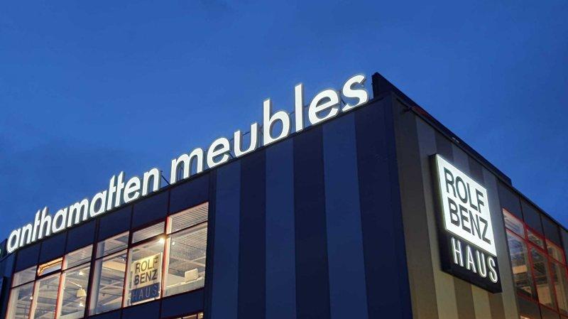 La succursale d'Anthamatten Meubles vient d'ouvrir ses portes à Saint-Légier.