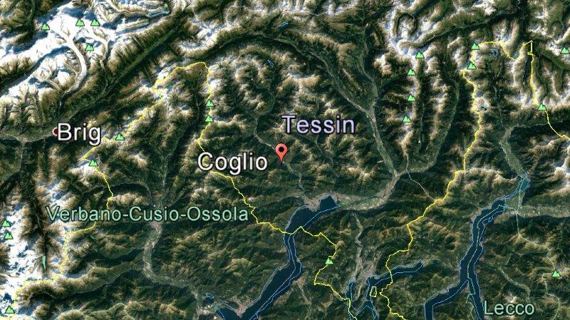 Glissement de terrain au Valle Maggia (TI): deux maisons endommagées