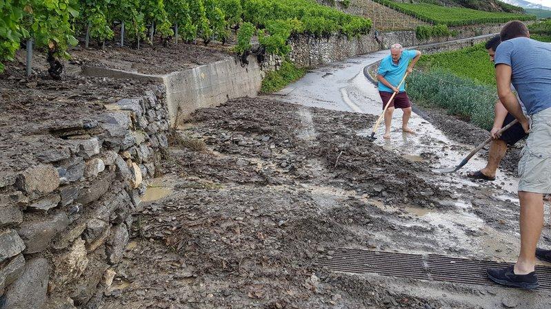 Le canton subventionnera la sécurisation des torrents de l'ouest de Vétroz