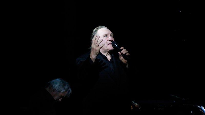 Gérard Depardieu chantera Barbara au Zermatt Unplugged