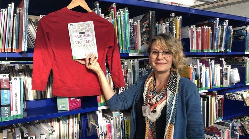 La Bibliothèque-Médiathèque de Sierre et sa responsable Muriel In-Albon Petrig placent la mode éthique au centre de leurs préoccupation durant tout le mois de novembre.