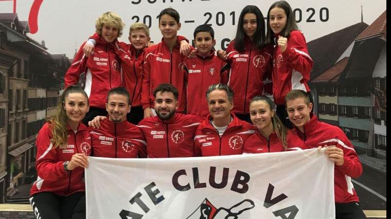 Les combattants et entraîneurs du Karaté Club Valais peuvent avoir le sourire après une belle saison 2019.