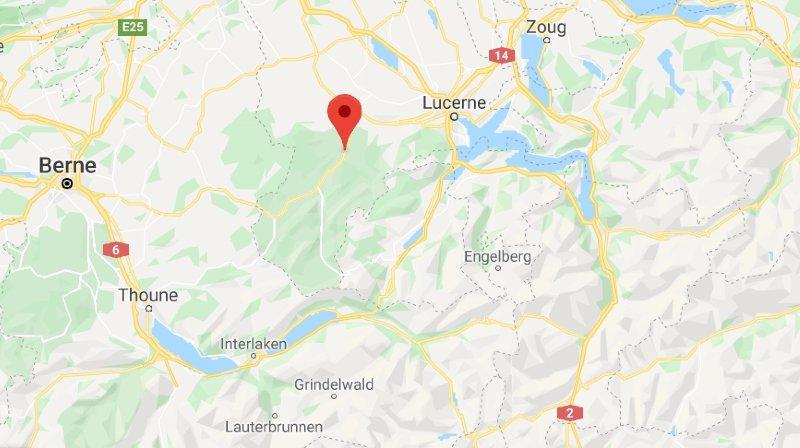 Le foehn abat 20'000 arbres dans l'Entlebuch (LU)