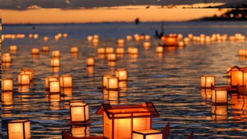 Dès 17 h 30, 700 lanternes lumineuses seront «lâchées» sur le canal à la hauteur du pont de la poste.
