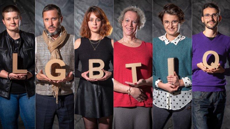 Derrière une lettre, un vécu: des LGBTIQ du Valais se racontent sans fard
