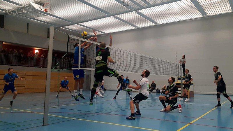 Martigny et Fully perdent des plumes tandis que Rhône Volley cueille trois points