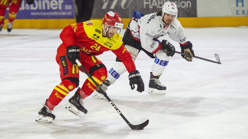 Mathieu Vouillamoz (Sierre) est actuellement prêté par le Genève-Servette HC.
