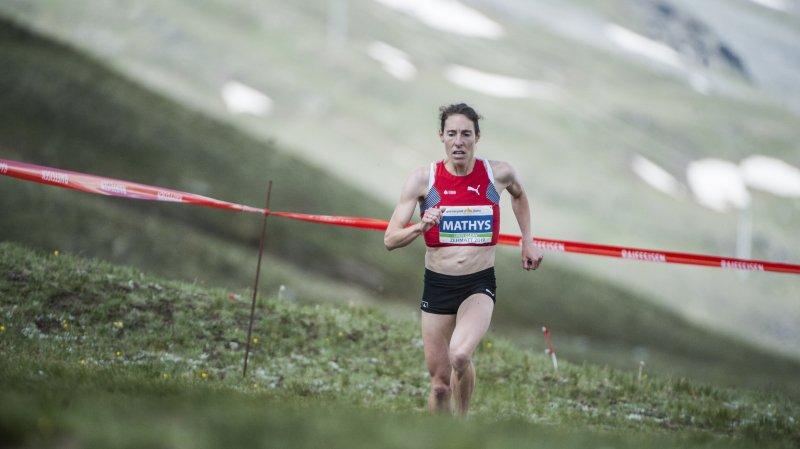 Triple championne d'Europe en titre, Maude Mathys devra patienter avant de régner sur le monde en course à pied de montagne.