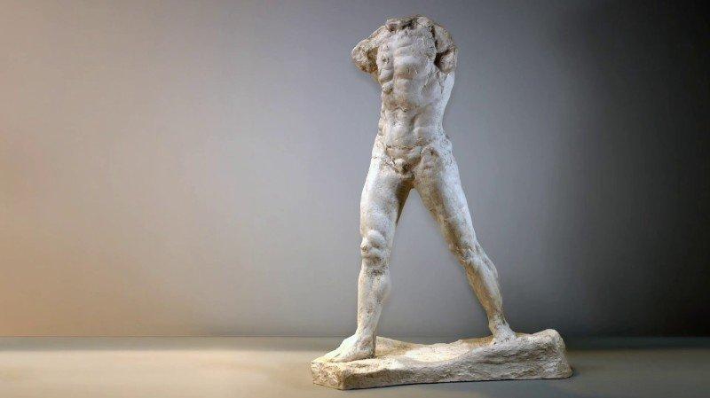 Le dialogue des deux sculpteurs, Rodin et Giacometti, n'a pas laissé le public indifférent.