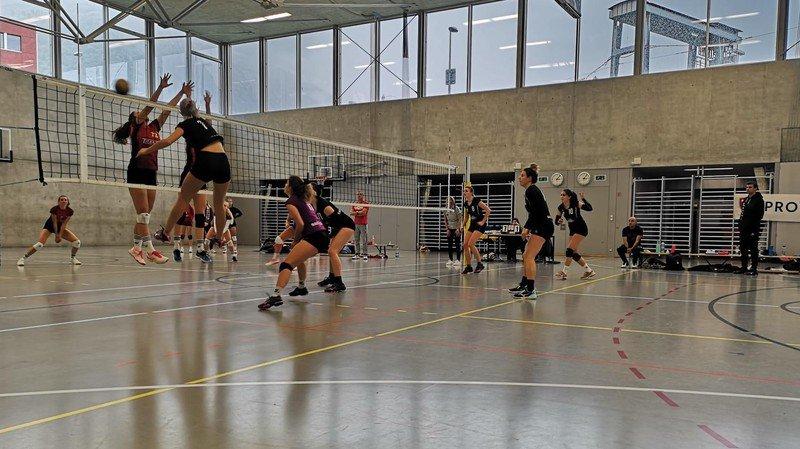 3 points pour Rhône Volley, 1 pour Fully