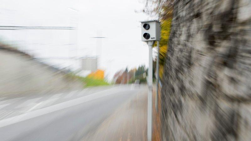 Le conducteur avait été flashé à plus de 100 km/h par le radar. (Illustration)