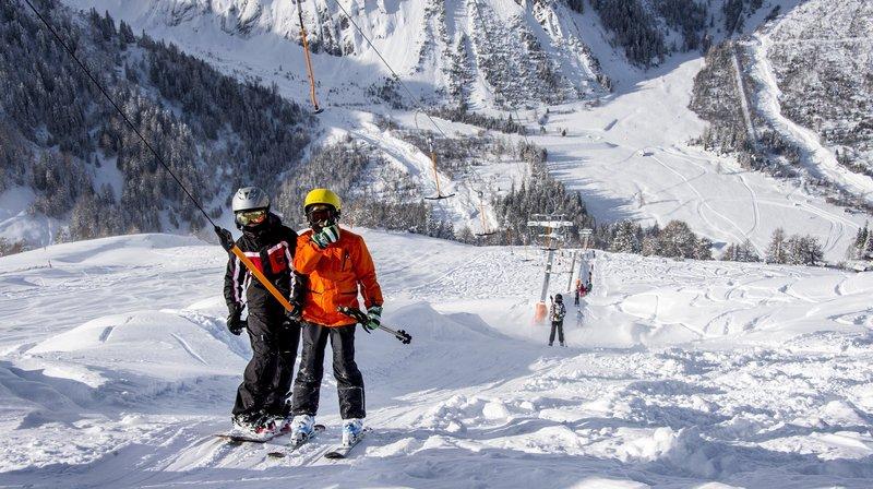 Le Pass Saint-Bernard permet notamment de skier de manière illimitée dans les stations de La Fouly (photo), Champex-Lac et Vichères-Liddes et de voyager gratuitement dans les bus au départ d'Orsières.
