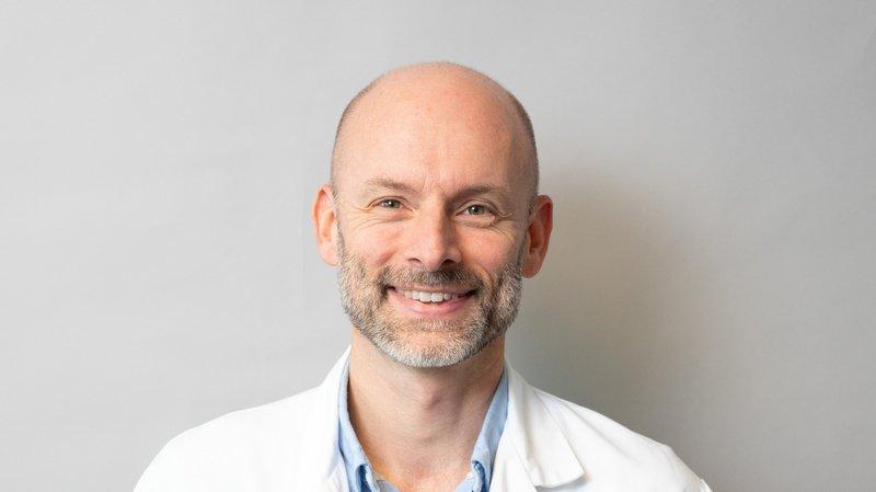 Dr Pierre Turini, nouveau directeur de l'Institut central des hôpitaux.