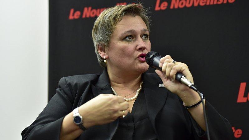 Marylène Volpi Fournier succédera à Christophe Clivaz dès le début d'année prochaine.