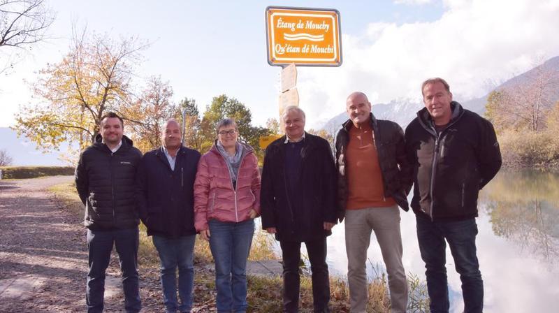 Savièse: le patois s'invite au bord des cours d'eau
