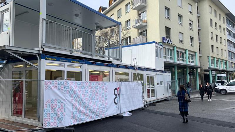 Le cube de Cœur à cœur prendra vie du 14 au 20 décembre.