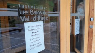 Bains de Val-d'Illiez: vers une ouverture pour cet hiver?