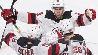 Hockey: un but et un assist pour Nico Hischier