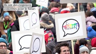 Berne: les enfants réunis pour leurs droits