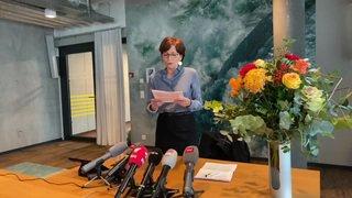 Regula Rytz, la présidente des Verts suisses, est candidate au Conseil fédéral