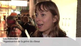 Les grévistes du climat militent contre le Black Friday