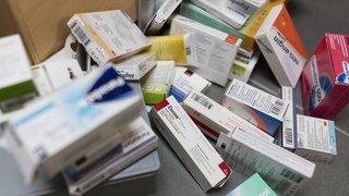 Assurance maladie: les médicaments ont coûté 7,6 milliards de francs en 2018, un record