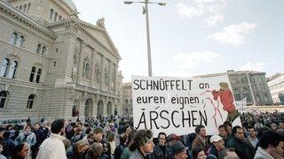 Infographie: il y a 30 ans, le scandale des fiches indignait la Suisse