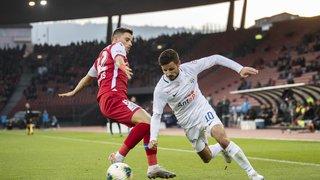 Super League: le FC Sion fait illusion une mi-temps avant de s'incliner logiquement à Zurich