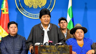 Le président bolivien Evo Morales annonce sa démission