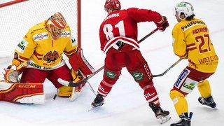 Hockey: Bienne s'adjuge le derby romand face à Lausanne, Fribourg enchaîne, Berne sombre