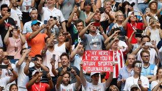 Tennis: Roger Federer perd face à Zverev, mais gagne l'amour inconditionnel du public argentin