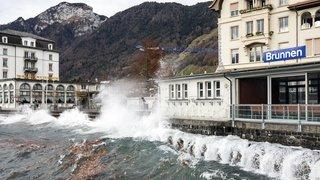 Météo: la Suisse balayée par une tempête de foehn, des rafales mesurées à plus de 100 km/h