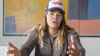 La skieuse d'Hérémence Mélanie Meillard ne fera pas son retour à Levi