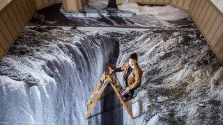 Elle photographie l'agonie de nos glaciers
