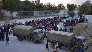 Athènes veut enfermer les migrants