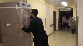 Les urgences de l'hôpital de Monthey ont fermé leurs portes