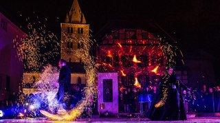 """Des lumières """"d'or et d'argent"""" au festival Lumina"""