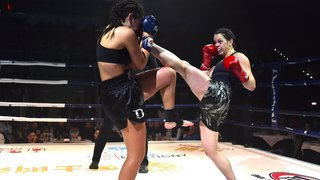 Kickboxing: Janique Avanthay s'offre une sortie de rêve